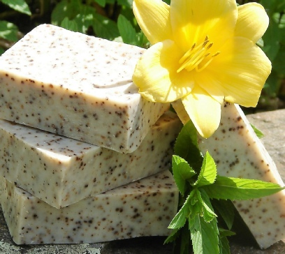 invigorating Castile soap by Kulina Alchemy
