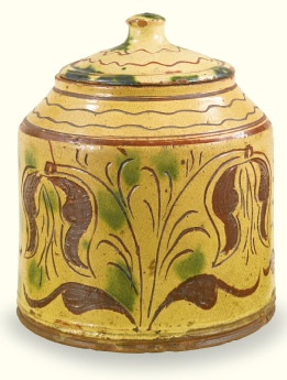 Redware Jar (1830-1840), Esmerian Collection at Sotheby Auction, January 25, 2014