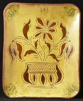 Platter by Garine Arakelian of Kulina Folk Art, Private Collection